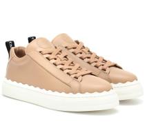 Sneakers Lauren aus Leder
