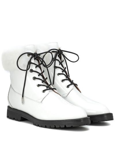 Ankle Boots Heilbrunner mit Pelz