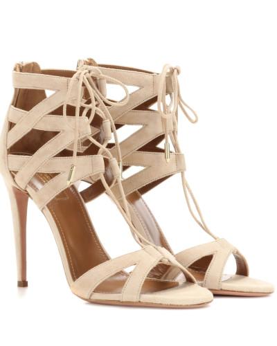 Sandaletten Beverly Hills 105 aus Veloursleder