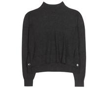 Cropped Pullover Ryssa aus Alpaka- und Merinowolle