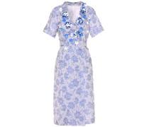 Hemdblusenkleid aus Cloqué