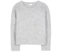 Oversize-Pullover aus Mohair, Wolle und Cashmere
