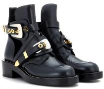 Leder-Boots Ceinture