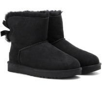 Boots Mini Bailey Bow II aus Veloursleder