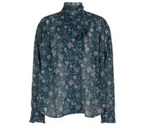 Bluse Pamias aus Baumwoll-Voile