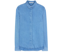 Bluse Beaumont aus Chambray
