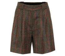 Karierte Shorts Drum Beat aus Wolle