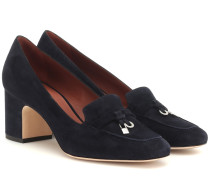 Pumps My Charms aus Veloursleder