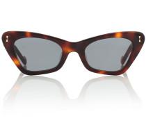Cat-Eye-Sonnenbrille Tallow