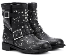 Boots Youth aus Leder