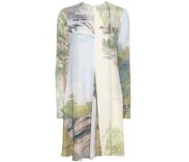 Crêpe-Kleid Sia mit Print