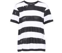 T-Shirt aus Baumwolle und Cashmere