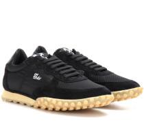 Sneakers Vintage Runner mit Veloursleder