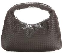 Intrecciato-Handtasche Large Veneta aus Leder