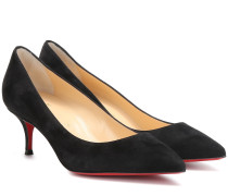 Pumps Kate 55 aus Veloursleder