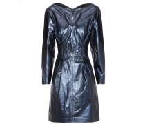 Kleid Algar aus Metallic-Leder