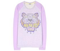 Printsweater aus Baumwolle