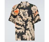 Bedrucktes Kurzarmhemd Platigyra