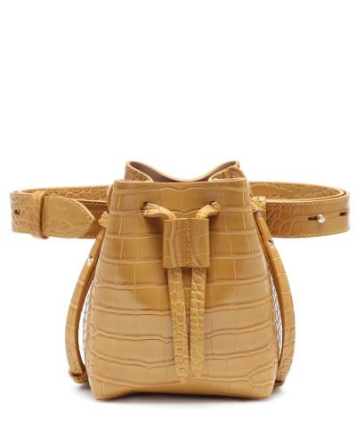 Bucket-Bag Minee aus Lederimitat
