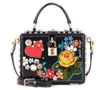 Dolce Box leather shoulder bag