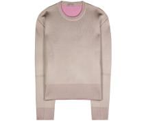 Sweater aus Wolle und Seide