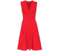 Kleid aus Woll-Seiden-Crêpe