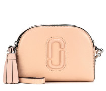 Crossbody-Tasche Shutter Small aus Leder