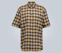 Kurzarmhemd aus Flanell