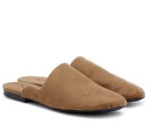 Slippers Granpa aus Kaschmir