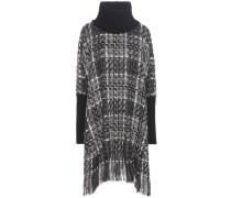 Tweed-Kleid aus einem Woll-Cashmere-Baumwollgemisch