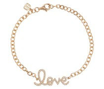 Armband Love aus 14kt Gelbgold und Diamanten