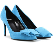 Pumps Obi aus Veloursleder