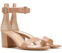 Exklusiv bei mytheresa.com – Sandaletten Versilia 60 aus Leder
