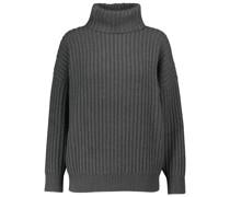 Gerippter Pullover aus Kaschmir