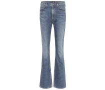 High-Rise Flared Jeans Georgia