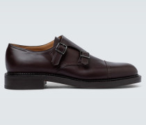Monkstrap-Loafers William aus Leder