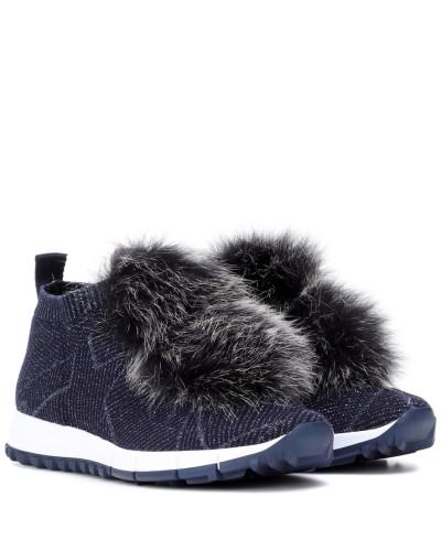 Sneakers Norway mit Pelz