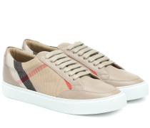 Sneakers Salmond mit Leder