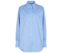 Oversize-Hemd aus Baumwolle