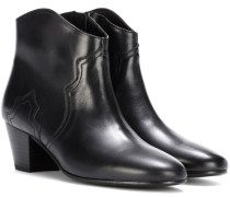 Dicker leather ankle boots