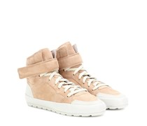 High-Top-Sneakers Bessy aus Veloursleder