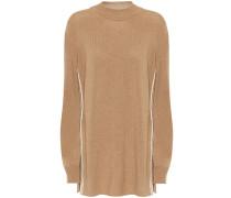 Pullover aus Kaschmir und Baumwolle