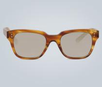 Sonnenbrille mit Schildpatt-Muster