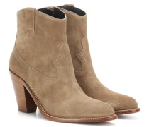 Ankle Boots Curtis 80 aus Veloursleder