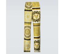 Bedruckte Hose Baroque aus Seide