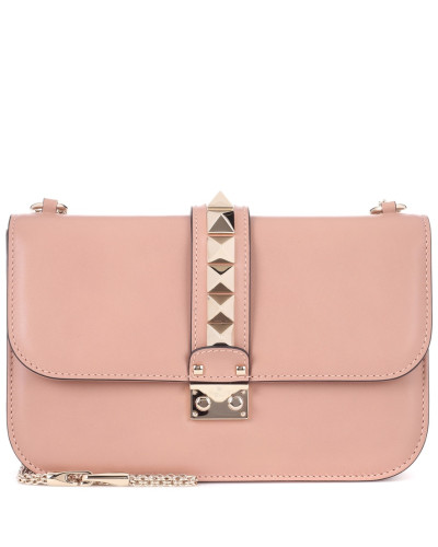 Valentino Damen Garavani Schultertasche Lock Medium aus Leder Kostengünstige Online-Verkauf yrhh59QCL