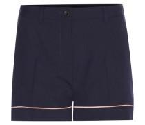 Shorts aus Schurwolle