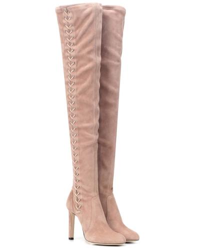 Stiefel Marie 100 aus Veloursleder