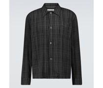 Kariertes Hemd Box aus Baumwolle