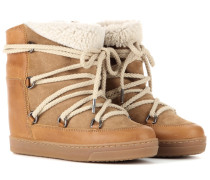 Étoile Wedge-Booties Nowles mit Shearling-Futter